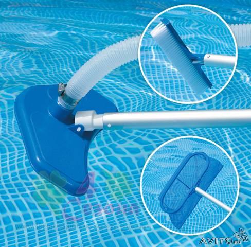 Узнаем, как чистить бассейн пылесосом, Особенности процесса