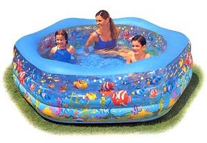 Детские надувные бассейны