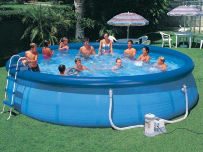 купить большой надувной бассейн